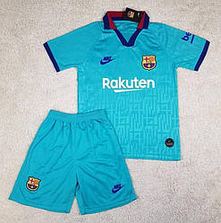 Детская футбольная форма резервная Барселона сезон 2019-20