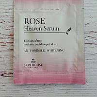 Сыворотка увлажняющая и питательная с экстрактом розы  The Skin House Rose Heaven Serum 1.5мл пробник