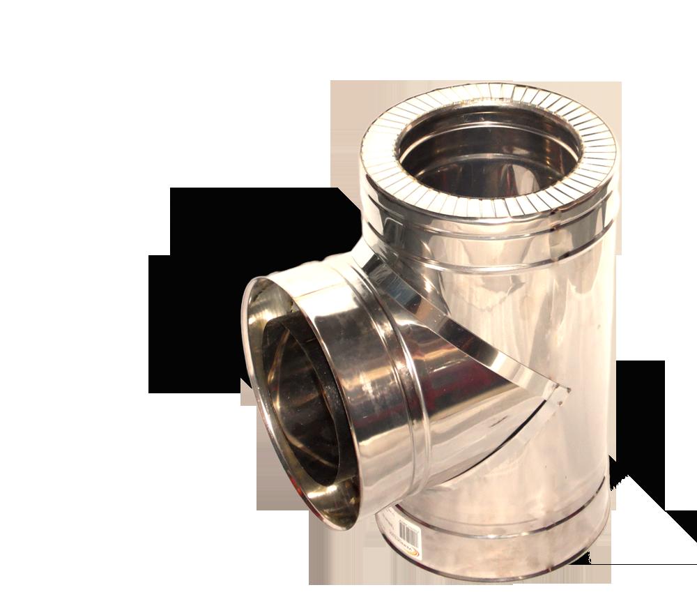 Версия-Люкс (Кривой-Рог) Тройник угол 87 н/н, толщиной 1 мм, диаметр 250мм