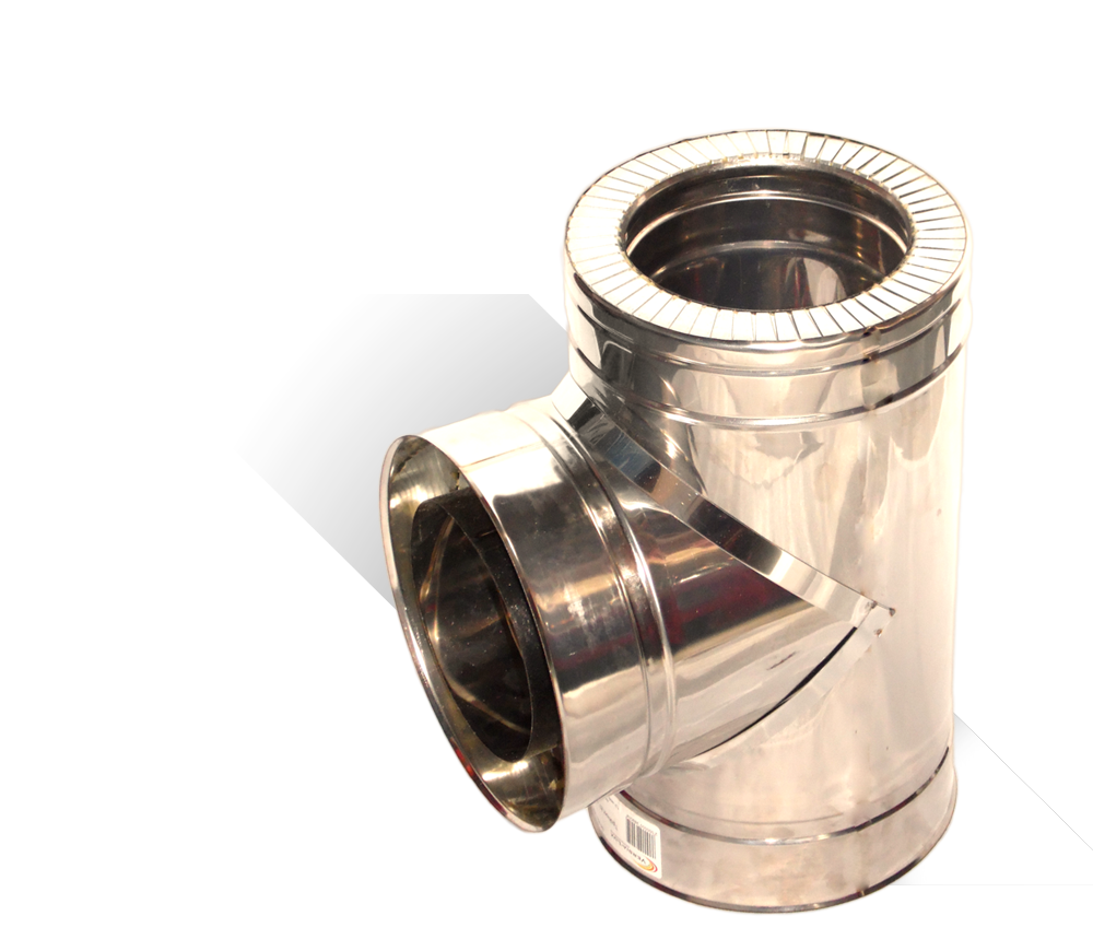 Версия-Люкс (Кривой-Рог) Тройник угол 87 н/н, толщиной 1 мм, диаметр 300мм