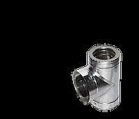 Версия-Люкс (Кривой-Рог) Тройник угол 87 н/оц, толщиной 0,5 мм, диаметр 150мм