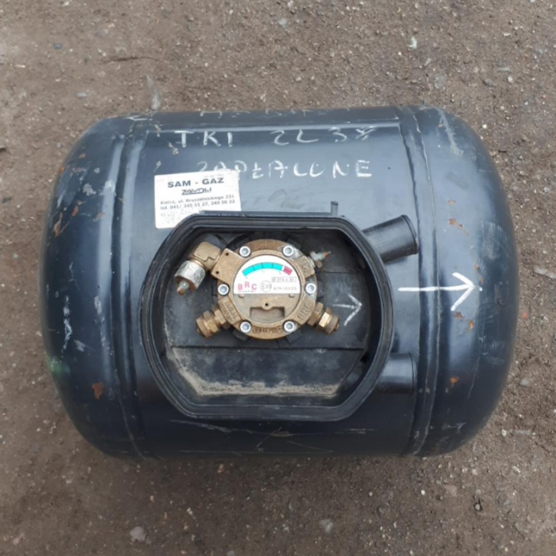 Баллон газовый пропан цилиндрический с мультиклапаном 40 л