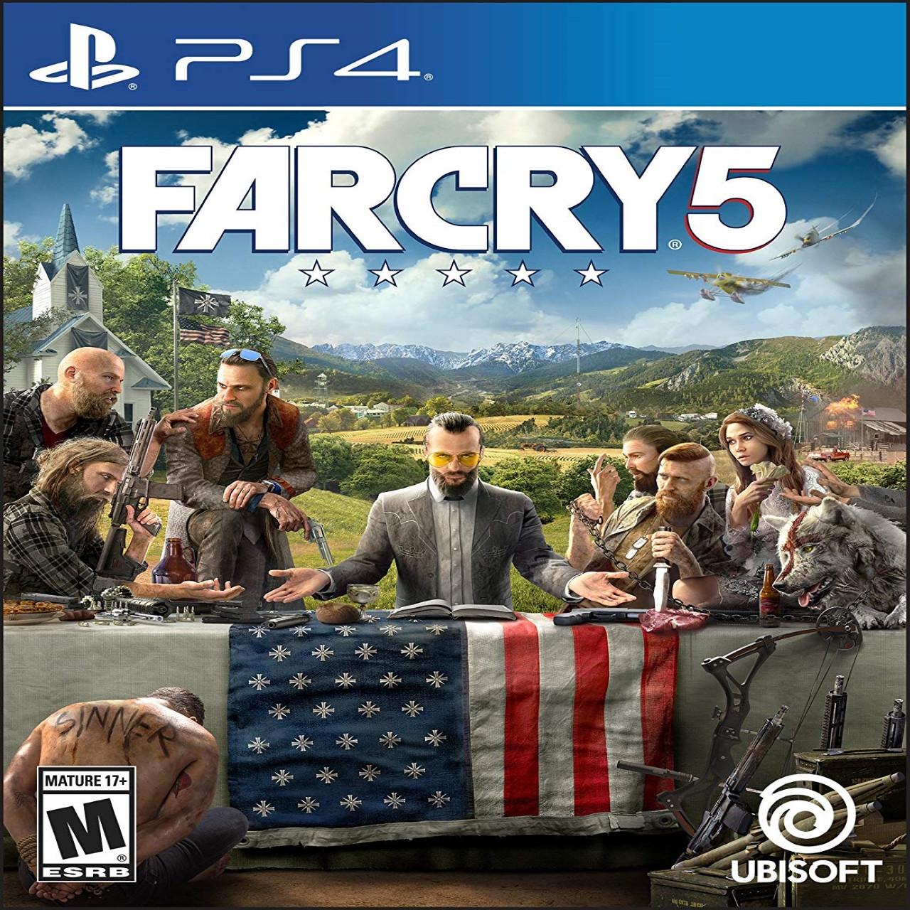 Far Cry 5 (англійська версія) PS4 (Б/В)