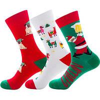 Носки НОВЫЙ ГОД: детские, женские и мужские подарочные, праздничные тематические.
