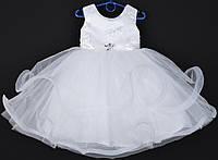 """Платье нарядное детское """"Пушинка"""". 3-4 года. Белое. Оптом и в розницу, фото 1"""