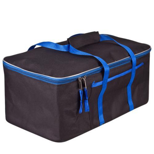 Cумка-органайзер в багажник цвет: черный с синим размер: 480х300х200мм