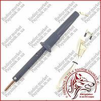 Заводской паяльник 40 вт (220V 40W ручка карболит, жало 5мм), фото 1