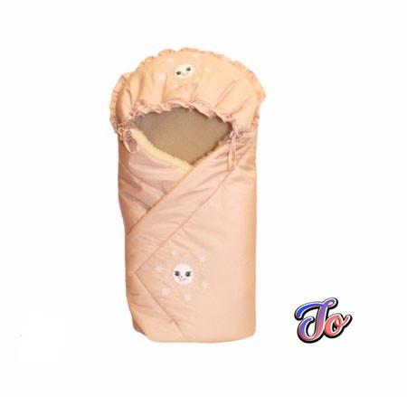 Умка- зимний конверт для новорожденных LUX