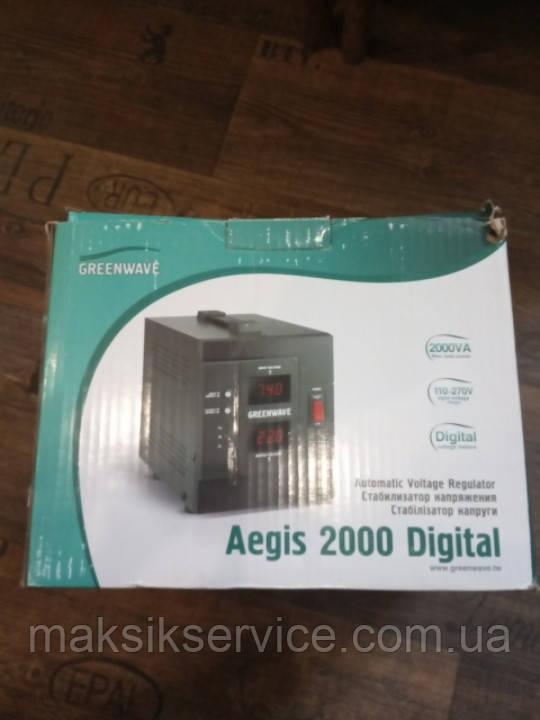 Стабилизатор питания GreenWave Aegis 2000 Digital