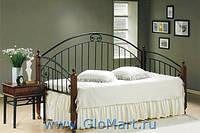 Односпальная металлическая кровать 17