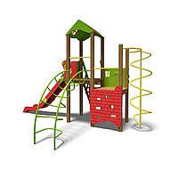 """Игровой комплекс """"Башня-NEW"""" T901 NEW зелено-красный"""