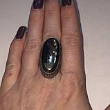 Пирит красивое кольцо с камнем пирит 16,5-17 размер кольцо с пиритом Индия!, фото 4