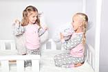 Дитяча піжама для дівчинки Dexters Щасливий кіт (розміри 128 см, 134 см), фото 4