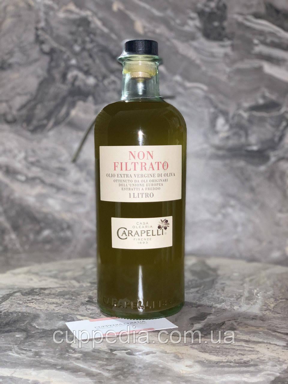 Оливковое масло Carapelli Non Filtrato 1л