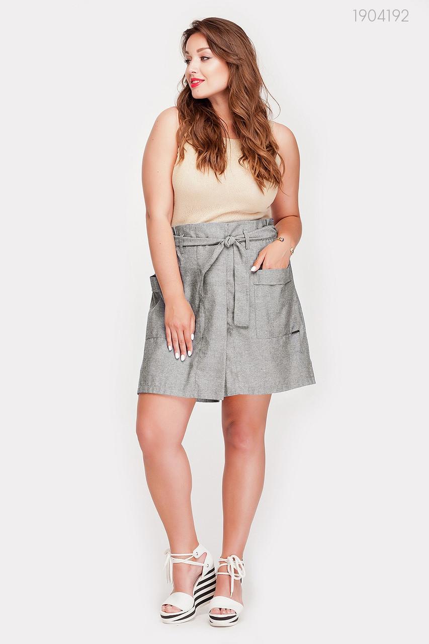 Женские шорты Сьен - 1 (серый) 1046340470