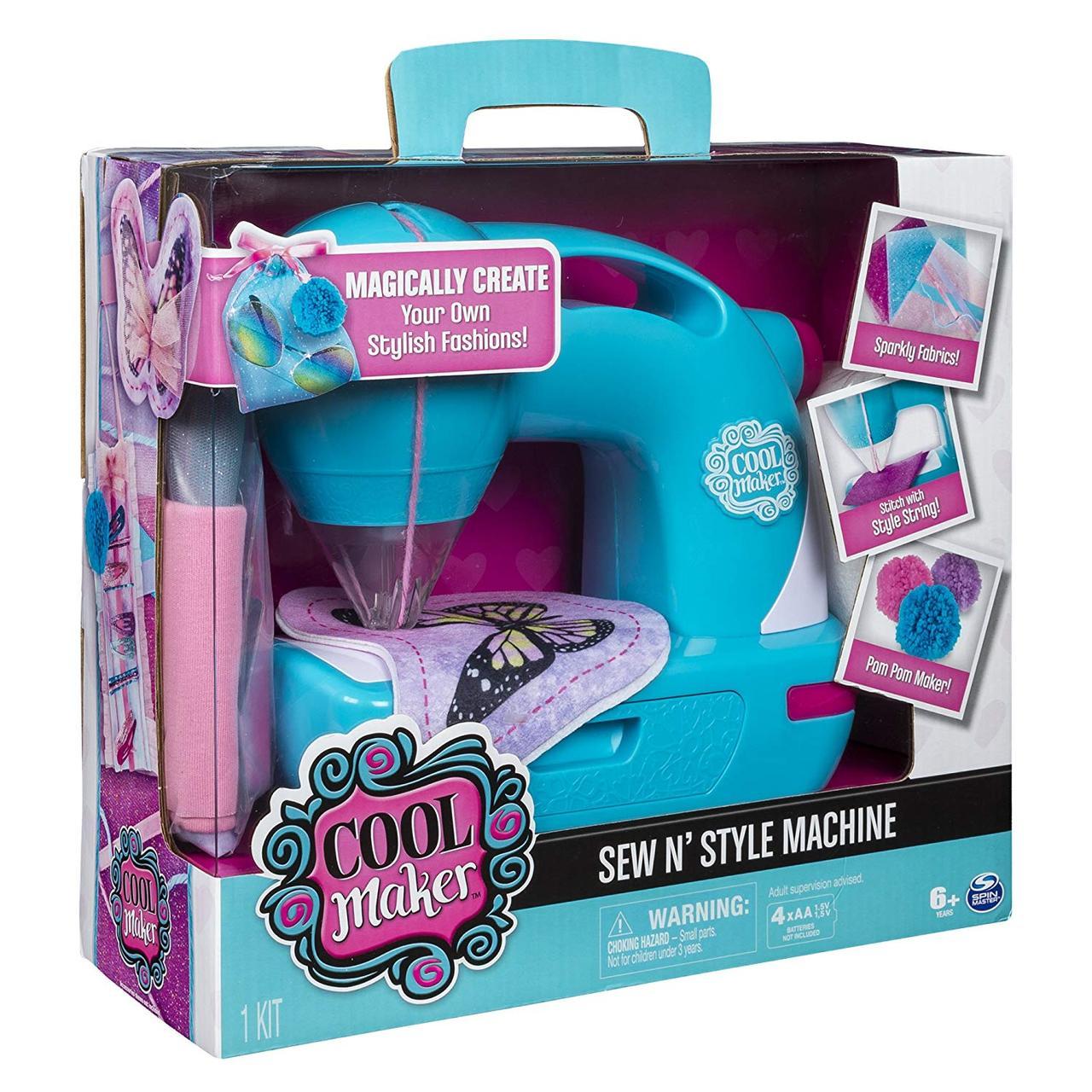Cool Maker Швейная машинка Sew N Style Sewing Machine Pom-Pom Maker