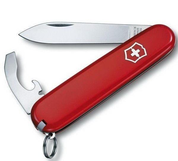 Нож складной, мультитул Victorinox Bantam (84мм, 8 функций), красный 0.2303