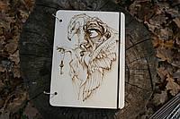 "Блокнот ""Тайна"" из дерева. Деревянный блокнот"