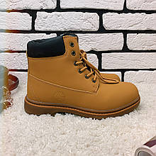 Зимние ботинки (на меху) женские Timberland  11-042