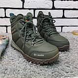Зимние ботинки (на меху) мужские Columbia 12-048, фото 3