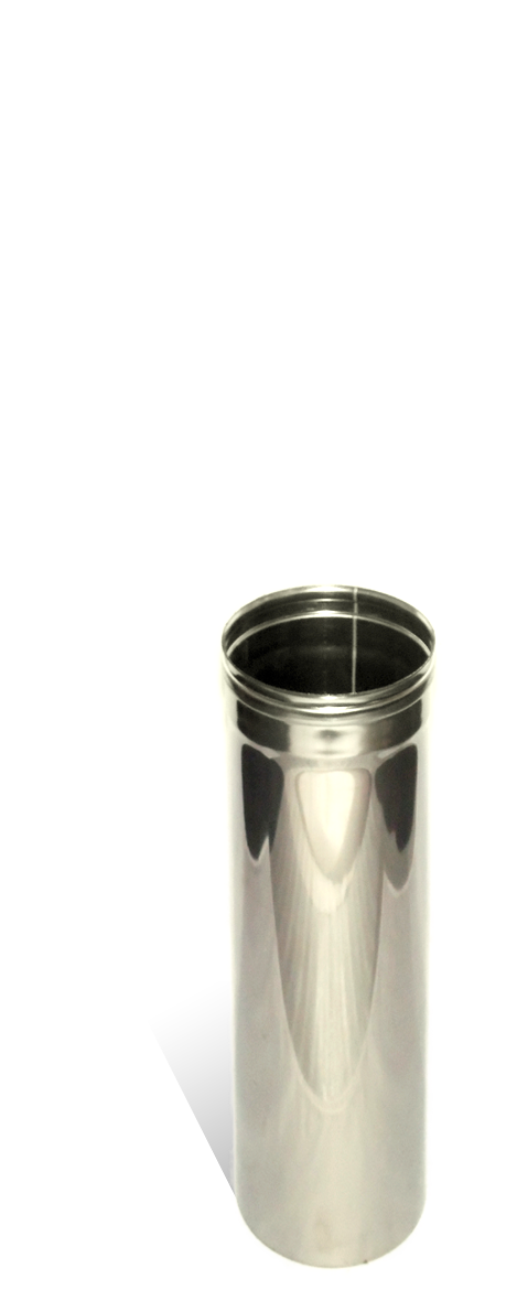 Версия-Люкс (Кривой-Рог) Труба, нержавейка, 0,5 м, толщиной 0,5 мм, диаметр 110мм