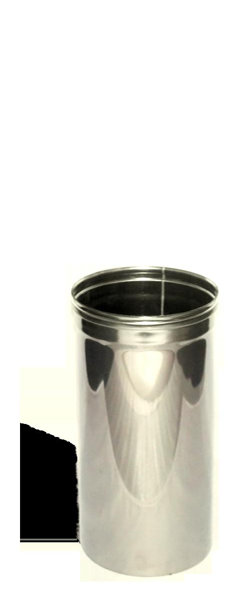 Версия-Люкс (Кривой-Рог) Труба, нержавейка, 0,5 м, толщиной 0,5 мм, диаметр 220мм