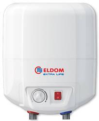 Водонагрівач ELDOM Extra Life 10 літрів над мийкою/ 2кВт/ ТЕН мокрий/ 285х288х430/ Болгарія
