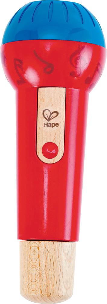Іграшка музична Нарі Дерев'яний Ехо мікрофон (E0337)