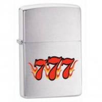 Зажигалка Zippo 24491 THREE SEVEN (Три семерки)