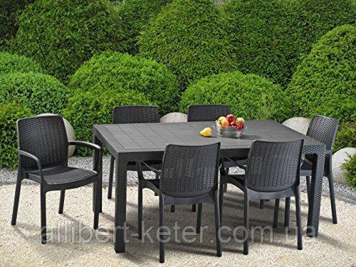 Набор садовой мебели Bali Mono Melody Dining Set из искусственного ротанга