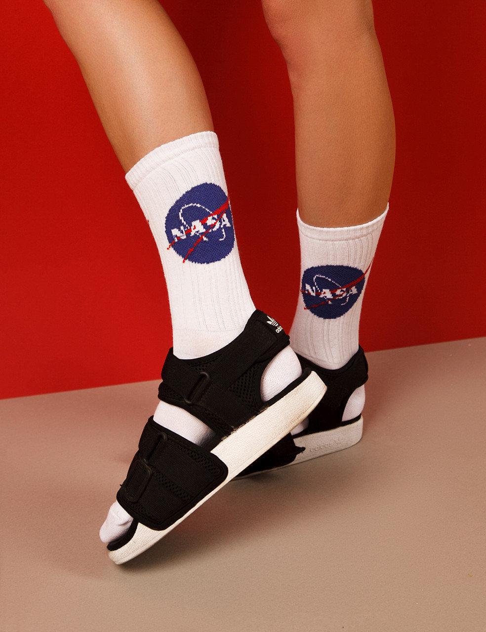 """Ароматизированные носки женские с принтом """"Nasa"""" Pemium"""