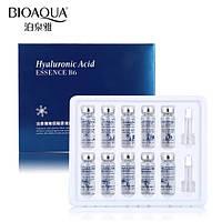 Сыворотка с гиалуроновой кислотой и Витамином В6 в ампулах Bioaqua Hyaluronic Acid Essence B6 (10х5мл)