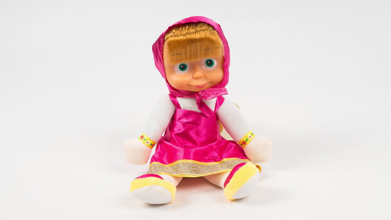 Мягкая игрушка кукла Маша.Поет песенки. Говорит фразами с мультика.30 см