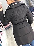 Женская куртка удлиненная евро зима, фото 3