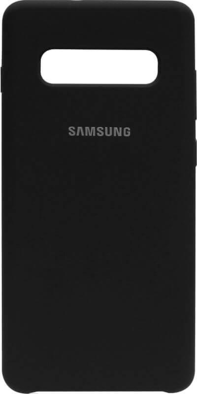 Накладка SA G975 S10 Plus black Silicone Case