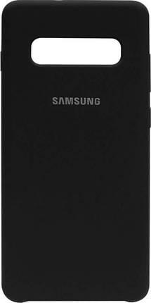 Накладка SA G975 S10 Plus black Silicone Case, фото 2