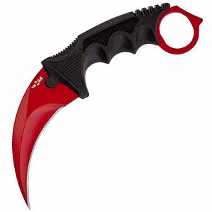 Нож Керамбит красный