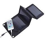 Солнечная зарядка панель 7W Вт, фото 10