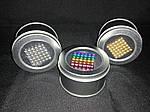 Неокуб 216 шариков 5 мм  Серебро, фото 5