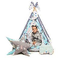 """Вигвам детский игровая палатка """"Медведи Blue"""", фото 1"""