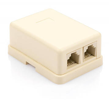 Телефонная розетка Vinga PhoneBox2Port