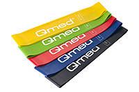 Набор эластичных лент для фитнеса Qmed Resistance Loop Bands Set