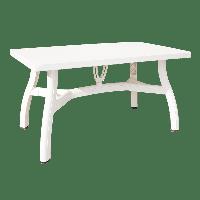 Стол прямоугольный Irak Plastik King 80x140 белый