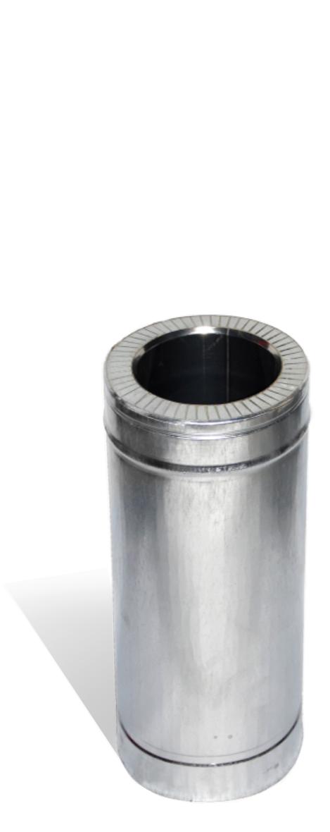 Версия-Люкс (Кривой-Рог) Труба, н/оц, 0,5м, толщиной 0,8 мм, диаметр 220мм