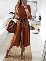 Платье женское с поясом, фото 1