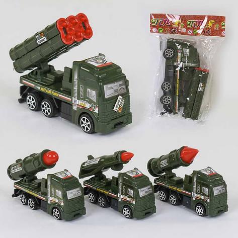 Военная техника 399-77 (960/2) 4 вида, инерция, 1шт в кульке , фото 2