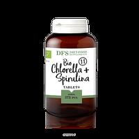 Спирулина + хлорелла 1:1 Bio spirulina+chlorella 1:1 375 таб Diet Food