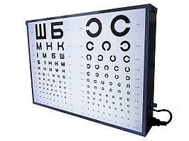 Осветитель таблиц для проверки зрения ар-2м медицинский Завет