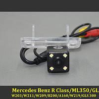 Камера заднего вида (Sony CCD) для Mercedes Benz R CLS W203 W211 W209 A160 W219 GLS 300 B200, фото 1