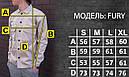 Куртка-рубашка хаки мужская Фьюри (Fury) от бренда ТУР размер S, M, L, XL, XXL, фото 2